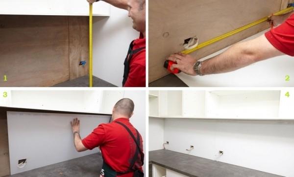 Установка стеновых панелей из мдф своими руками 45